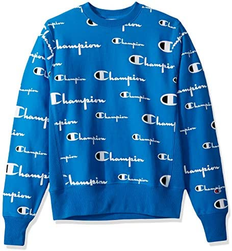 Champion LIFE Men/'s Reverse Weave Crew White Sweatshirt
