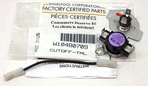 W10480709 Genuine OEM Original Whirlpool Dryer Thermal Cu...