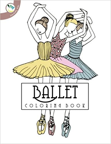 Ballet Coloring Book Individuality Books Alice Antoine