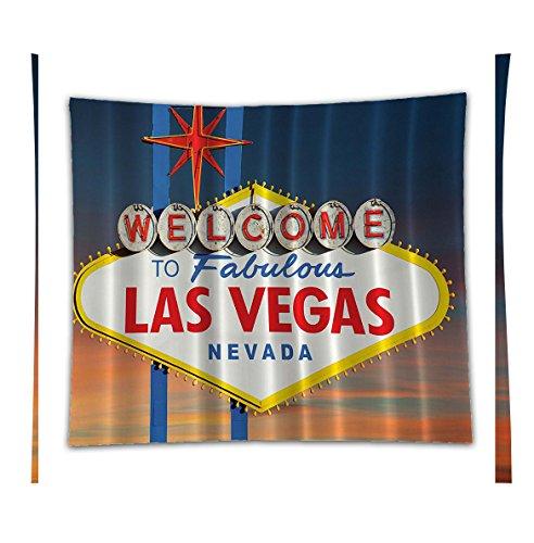 Beshowereb Fleece Throw Blanket Welcome to Fabulous Las Vegas Nevada Sign Picture Traveler Urban Road Decor Design Art Print - - Quilt Road Oklahoma To