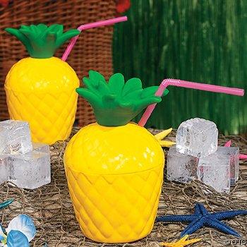 Dozen Tropical Tiki Pineapple Drink