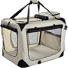 MOOL - Caja de Transporte de Mascotas de Tela Ligera con Alfombrilla de Forro Polar y Bolsa de Alimentos