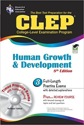 Clep Human Growth And Development 8th Ed Clep Test Preparation
