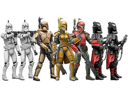 (Star Wars: 30th Anniversary Collection - Mandalorians and Clone Troopers Action Figure Multi-Pack)