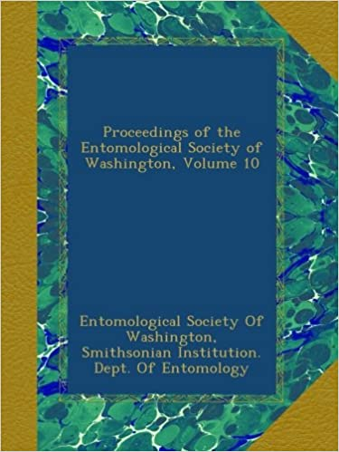 Livres électroniques téléchargeables gratuitement Proceedings of the Entomological Society of Washington, Volume 10 in French MOBI B00AZMSE2E