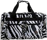 Rockland Luggage 19 Inch Tote Bag, Zebra, One Size