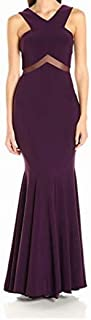 product image for Betsy & Adam Women's Illusion Cut Out Gown