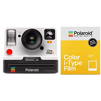 3580a7727c0f Amazon.com : Polaroid Originals 9008 OneStep 2 VF Instant Film Camera  (White) w/4668 i-Type Color Instant Film : Camera & Photo