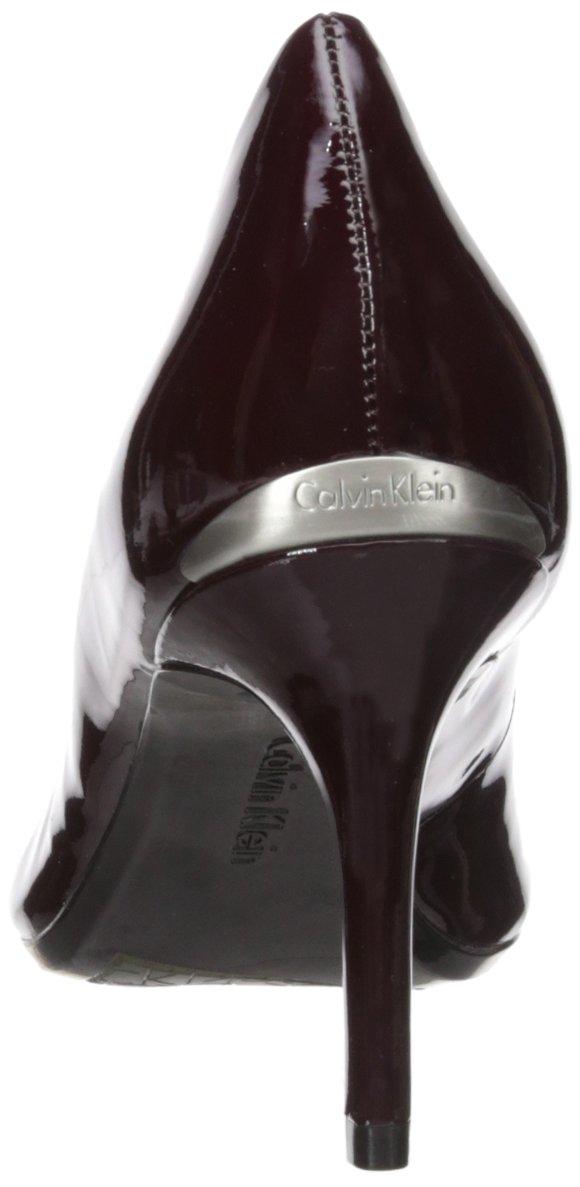 Calvin Klein Women's Gayle Pump B073XFVHNT 6 B(M) US|Oxblood