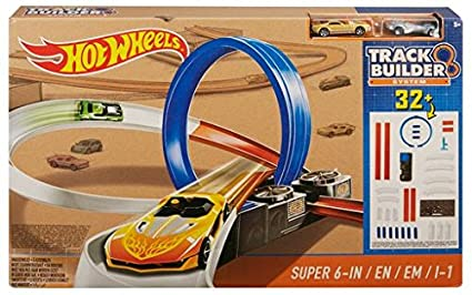 632480d669d8a Image Unavailable. Image not available for. Color  Mattel DPF20 Hot Wheels  Track Builder System Super 6-in-1 ...