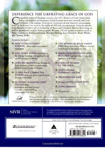 Niv Women Of Faith Study Bible Jean E Syswerda 9780310918844