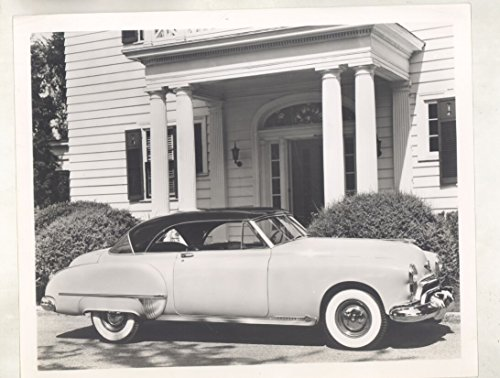 Oldsmobile 98 Holiday Hardtop Coupe ORIGINAL Factory Photograph - Olds 98 Top