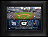 "New York Mets Framed 5"" x 7"" Stadium Collage with a Piece of Game-Used Baseball - MLB Team Plaques and Collages"