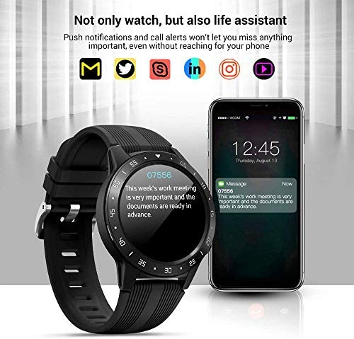Anmino Smart Watch (GPS +Barometer+Altimeter+Compass),Full HD Touchscreen,All-Day Heart Rate and Activity Fitness Tracker,Pedometer,Calorie Counter,Sleep Tracker,Bluetooth smartwatch 511Vti7LDlL