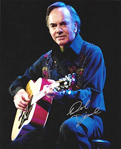Neil Diamond - Legendary Singer - Signed 8x10 Photograph in Mint Condition COA PROOF - SPECIAL