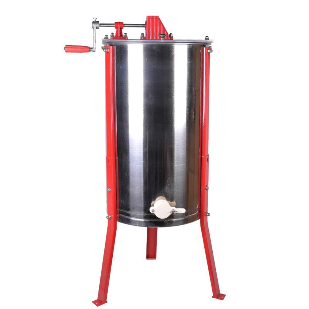 Farm & Ranch Stainless Steel Manual 2 Frames Bee Honey Extractor Honey Centrifuge for Beekeeper honey bee tools apicultura