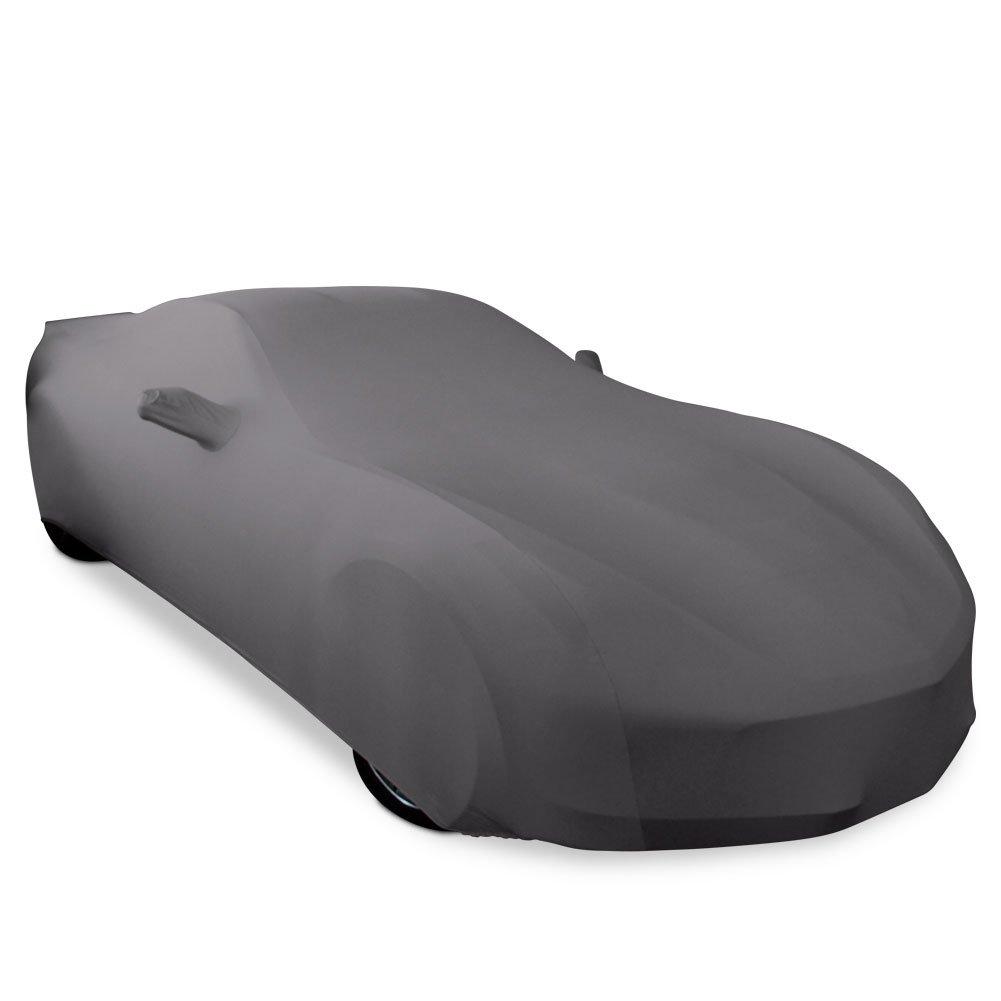 2014-2019 C7 Stingray, Z51, Z06, Grand Sport Corvette Ultraguard Stretch Satin Indoor Car Cover (Dark Grey)
