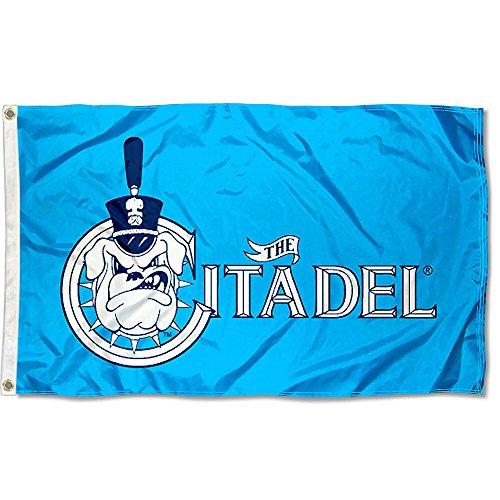 Citadel Bulldogs Blue University Large College Flag