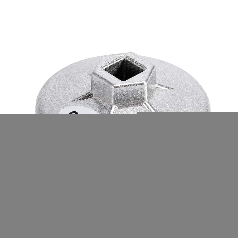 Chiavi Filtro Olio 14 Strumento per Estrattore in Alluminio per Flauto 903 Silver Color 74mm