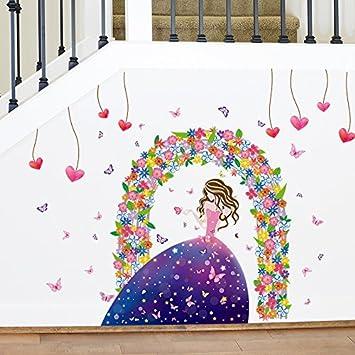 Wandhalterung Prinzessin Mädchen Zimmer Sind Gemütlich Und Romantisches  Schlafzimmer Dekor Aufkleber Wohnzimmer Schlafsofa Traum Mädchen Urban
