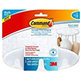 Command Bath Multi-Hook, 5-Pound Capacity