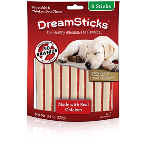 DreamBone 9 Piece Chicken Dog Chew (1 Pack), One Size