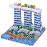 nanoblocks Nbh123 Nb - Marina Bay Sands Building Kit