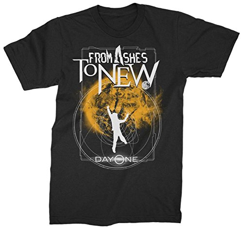 From Ashes To New- Orbital Plunge T-Shirt Size XL (Ash Short Sleeve T-shirt)