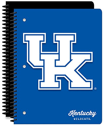 University of Kentucky Wildcats 1-Subject School Notebooks, 2 Pack, 70 Pages Each, 8