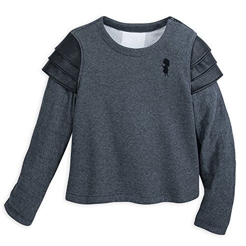 - Disney Edna Mode Semi-Cropped Fleece Pullover for Women - Incredibles 2 Size Ladies M Black