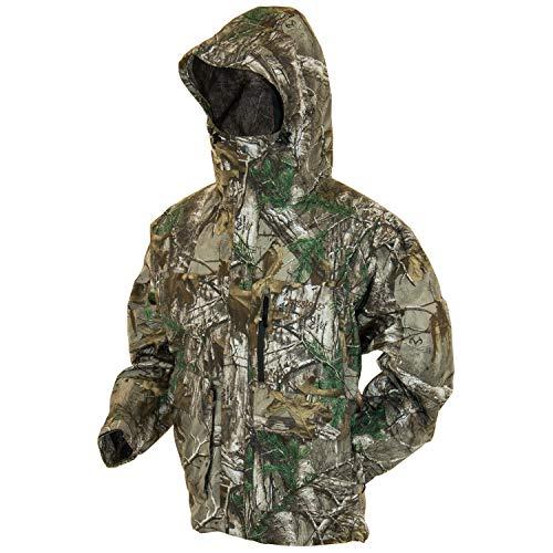 Mens Raincoat Camouflage (Frogg Toggs Toadz Toad Rage Rain Jacket, Realtree Xtra, Size XXX-Large)