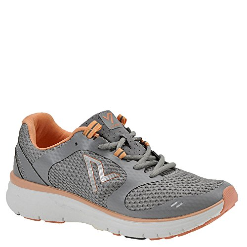 Vionic with Orthaheel Technology Women's Elation1 (9 B(M) US, Grey/Coral) by Vionic