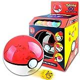 FAVTOY ISLAND - Pokeball Catapult Marble Shooter with Five Element Pokemon Launchable Pokeballs and One Piece Free Random Evil Pokemon