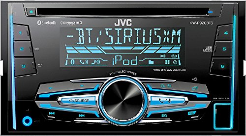JVC KW-R920BTS Built-in Bluetooth Satellite Radio-Ready in-Dash Receiver with Remote