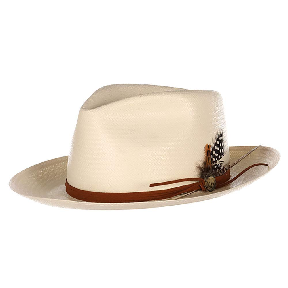 Stetson Hats Boys Tallahassee 2 3//4 Brim Hat OS Ivory
