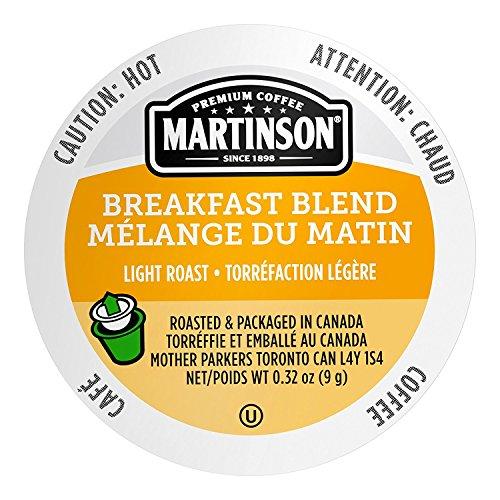 Martinson Single Serve Coffee Capsules, Breakfast Blend, 24 Count
