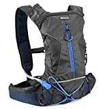 Hydration Backpack, Evecase Sport Daypack with 2L Hydration Bladder for Cycling Hiking Climbing Running and Any Other Outdoor Sports - Black