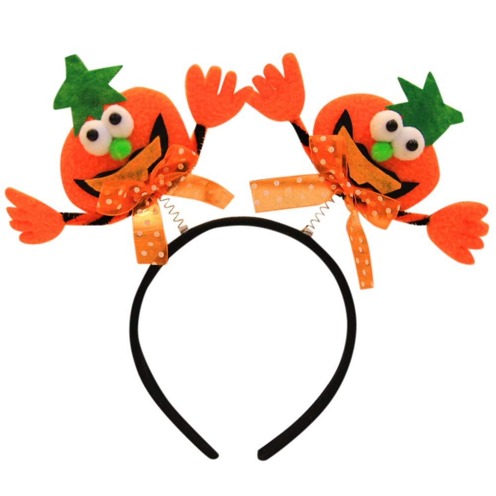 Topgrowth Fascia Capelli Neonata Halloween Cerchietto per Capelli Divertente Fotografia Puntelli Headband