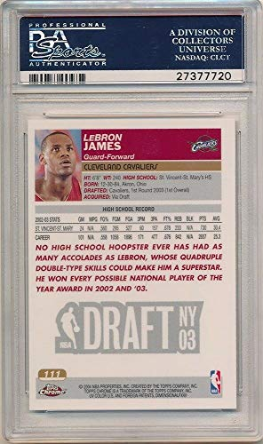 Buy lebron james sp rookie