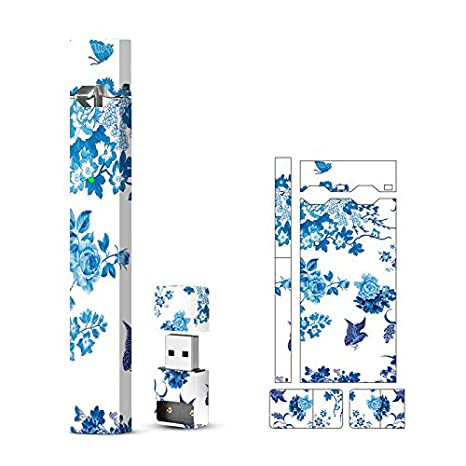 JUUL Skin Wrap Vinyl Decal Sticker Multicolored Flowers