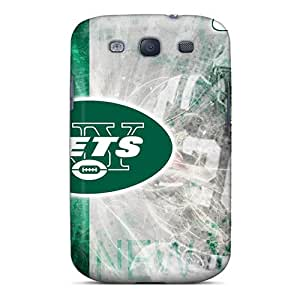 Samsung Galaxy S3 Jhy10767lyIz Allow Personal Design Nice New York Jets Pictures Shock Absorbent Hard Phone Cases -AaronBlanchette