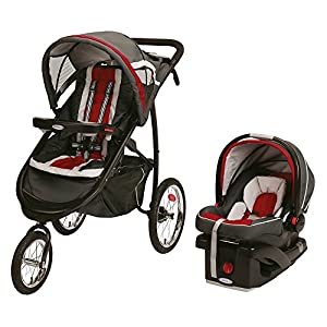 Graco Fast Action Jogger Travel System - Chili Red