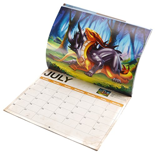 2017 Dragon Sex Calendar - great white elephant, gag or novelty gift, nerd, geek, silly, funny, dirty joke wall calendar