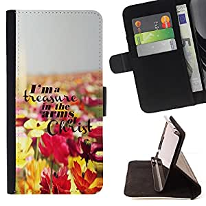 Jordan Colourful Shop - Jesus Christ flowers god Christian For Apple Iphone 5C - Leather Case Absorci???¡¯???€????€????????&cen
