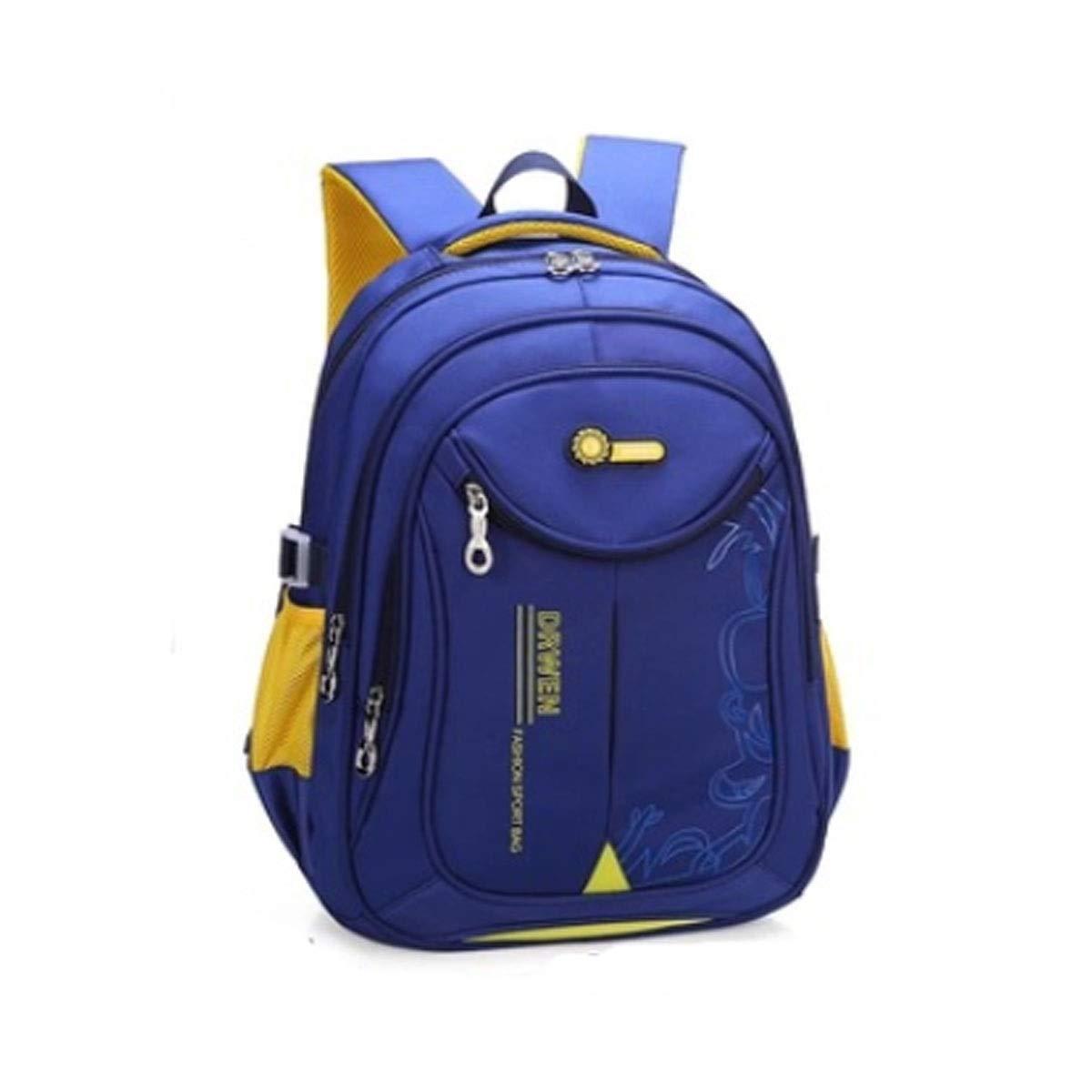 Borsa da scuola, borsa da studente, zaino da spalla ultraleggero, adatto per studenti di grado 1-6, 30  18  45 cm, blu, rosa