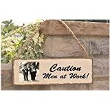 Laurel and Hardy personalised shed sign gift by signs of eden
