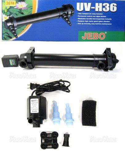 Jebo Aquarium Uv Sterilizer 36 Watt-180 Gallons by JEBO
