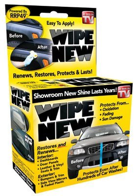 Wipe New Trim Restorer (Car Plastic Cleaner As Seen On Tv)