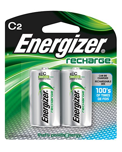 Energizer Recharge battery C2, pack of 2 ()