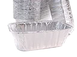 Disposable Aluminum 1 Pound Loaf Pan #5000 By Handi Foil (100)